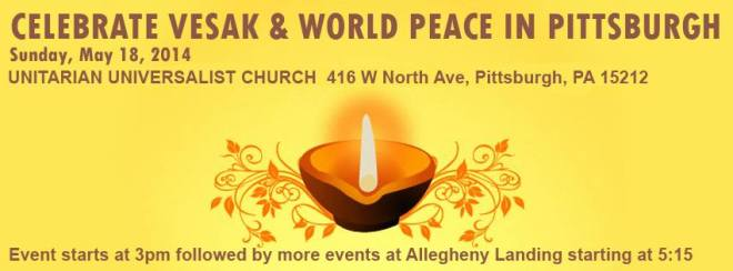 vesak in pittsburgh 2014